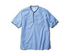 uniform experiment S/S PIPING SHIRT