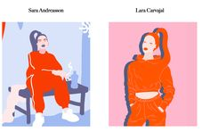Feels Familiar? Sara Andreasson VS Lara Carvajal Illustrators, Feels, Artists, Inspiration, Collection, Biblical Inspiration, Illustrations, Artist, Inhalation