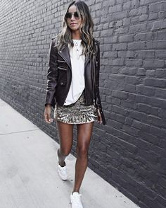 28 Different Looks You Can Achieve With 1 Leather Jacket