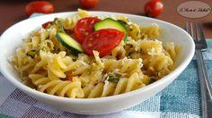 #Pasta con #zucchine e #pomodorini #ricetta