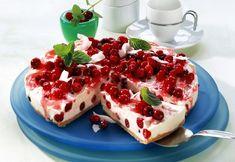 """[caption align=""""right""""]   original_1457330685.jpg      [/caption]Nepečená ríbezľová tortaČo potrebujeme:130 až 150 g celozrnných sušienok100 g masla600 g bieleho smotanového jogurtu4 balíčky vanilínového cukru"""