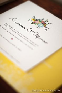 Project Party Studio. #wedding #custom design #personalizado #handmade #kraft