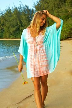 Beach Wahine - Designer Hawaiian Clothing, Jewelry, Swimwear and Accessories - Butterfly tunic, $75.00 (http://www.beachwahine.com/whats-new/butterfly-tunic/)