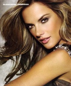 Alessandra Ambrsio Makeup Tutorial