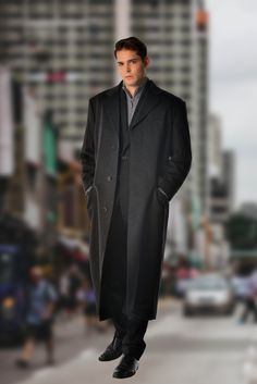 6a5035f7da Men s Full Length Overcoat in Pure Cashmere