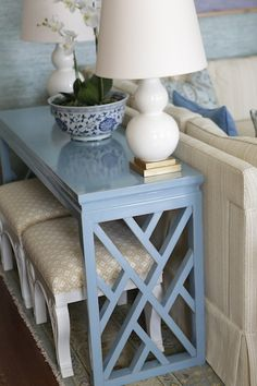 Console table - Linda Benson Interiors