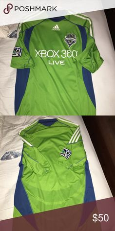 323e891f2 Soccer jersey Like new Seattle sounders jersey Adidas Skirts Seattle  Sounders