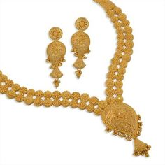 Product - WHPS288.095 | GoldNecklaceSet | NecklaceSet | Gold | Jewellery