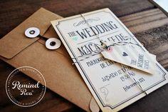 Glosario de invitaciones de casamiento