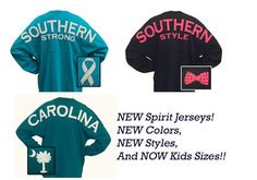 e98062648a7 We now have new Spirit Jersey styles at the Palmetto Moon. Southern Marsh