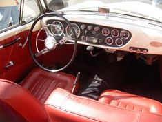 Volvo P1900 interieur