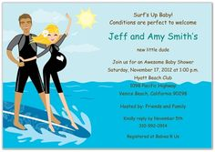 DIY Baby Shower Invitation Beach Baby Template Parties Events