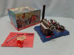VK 64 PV Dampfmaschine Wilesco D10 Originalkarton Top Zustand Decorative Boxes, Ebay, Steam Engine, Paper Board, Decorative Storage Boxes