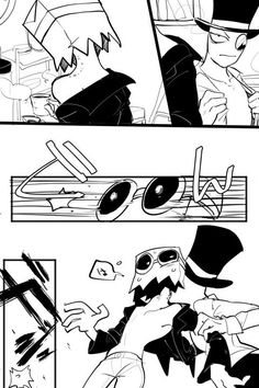 black hat x dr flug at DuckDuckGo Anime Demon, Manga Anime, Dr Flug, Villainous Cartoon, Couples Comics, Bad Romance, Stray Dogs Anime, Cartoon Crossovers, Handsome Anime Guys
