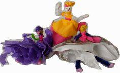 Bri-coco de Lolo: Mes poupées en papier