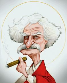 """Mark Twain ** The PopDot Artist ** Please Join me on the Twitter @AlabamaBYRD & Be my Friend on the FaceBook --> http://www.facebook.com/AlabamaBYRD **  BIG BYRD HUGS & SMILES & PRAYERS TO EVERYONE IN NEED EVERYWHERE **  ("""")< Chirp Chirp said THE BYRD http://www.facebook.com/AlabamaBYRD"""