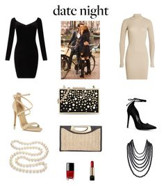"""""""date night"""" by saturn43210 on Polyvore featuring adidas Originals, Miss Selfridge, Karl Lagerfeld, Calvin Klein, Humble Chic, DaVonna, Chanel and Lancôme"""