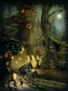 #fantasy #worldbuilding #art @ancientsummer