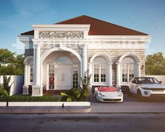 Classic House, Modern Classic, 20x40 House Plans, Home Fashion, Villa, Home Appliances, Backyard, House Design, Mansions