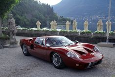 1968 Ford GT 40 Mk3  Probably the most brilliantly gorgeous cars ever