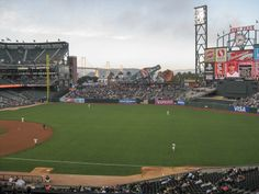 5. Peep through the fence to watch a few innings of a San Francisco Giants Game for free | 10 Free and cheap things to do in San Francisco