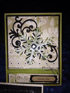 "Thank You-4 (Authentique ""Peace"" and Teresa Collins ""December 25"" Cricut cartridge)"