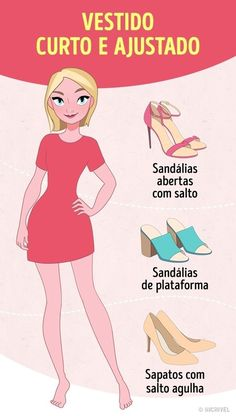 bc1f58011b Aprenda a escolher o sapato perfeito de acordo com o vestido