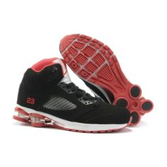 Air Jordan 5 Column Shoes Black Red For Sale 3f3accea3