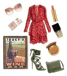 """Wine tasting"" by nehasuyal on Polyvore featuring Raquel Diniz, MAC Cosmetics, Chloé, Tory Burch, Steve Madden, Gucci, Too Faced Cosmetics, Wine Enthusiast, Witchery and contest"