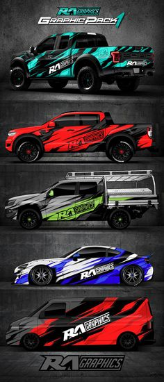 This is Graphic Pack 1, really simple eazy to use graphic that you can use as is or add to and make it event more Epic! this style is one of our most popular truck wrap graphics.   Supplied in Ai and PDF