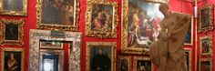 Make sure to check out works by masters of the Renaissance and the seventeenth century at the Palatine Gallery and Royal Apartments which occupy the entire first floor of the Pitti Palace
