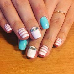 neon-Strip-acrylic-nail-design pretty 55 Acrylic Nail Designs 2018 Nail Art pretty 55 Acrylic Nail Designs 2018