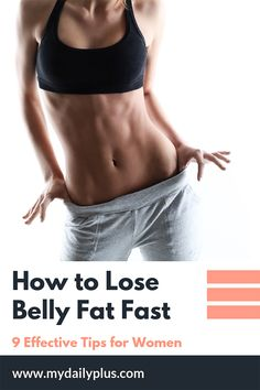 Belly fat is the most dangerous fat women can have linked to breast cancer, diabetes and strokes. If you're struggling tummy fat, here are 9 best tips and tricks to help you lose fat fast and easy. Weight Loss Meals, Weight Loss Tips, Burn Belly Fat Fast, How To Lose Weight Fast, Abdominal Fat, Fat Burning Workout, Fat Workout, Workout Schedule, Burn Calories