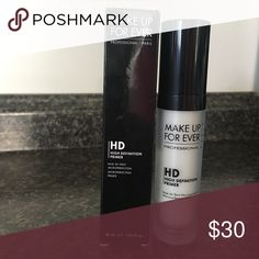 MAKEUP FOREVER HD High Definition Primer #5 Brand New ❤️ #5 HD Face Primer by Makeup Forever 1 oz. This Primer adds radiance and reduces the appearance of minor imperfections while giving you a great base for your foundation. Makeup Forever Makeup Face Primer