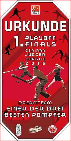 urkunde 1. LigaFinale 2015 Dreamteam
