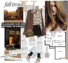 """""""Fall trend: Lace"""" by riennise ❤ liked on Polyvore"""