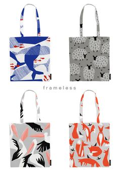 I was always wondering if anybody would be interested if I put the patterns that I've been drawing into tote bags and other products for sa...