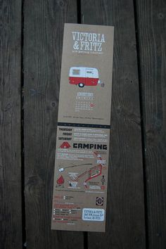 Camping invite wording