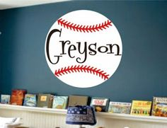 Baseball Baby Room Decor