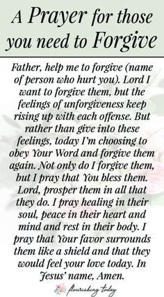 How to Forgive Someone Who has Hurt You Repeatedly