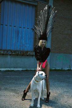 Vika Falileeva by Urivaldo Lopes for French Revue de Modes Issue 24