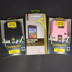 OtterBox Commuter Series Case for Samsung Galaxy w/ Screen Protector! Samsung Cases, Samsung Galaxy, Galaxies, Lunch Box, Mint, Ebay, Black, Black People, Peppermint