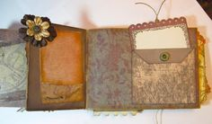"""With A Grin: """"With A Grin"""" Blog Candy! (Scrapbooking Paper Bag Mini Album)  Watch videos"""