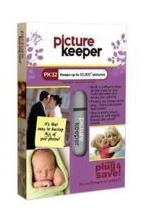 Add the Picture Keeper to your photo backup solution. Just plug it in and it finds and saves a copy of all of your photos on your computer.  Many different sizes to fit your needs. {affiliate link}