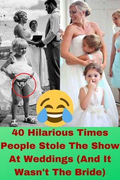 As you laugh hysterically at these photos try and think twice about who you put on your wedding guest list.