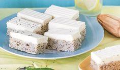 Makovo-citrónový koláč s tvarohovým krémom: Stratíte chuť na všetky iné makovníčky Tiramisu, Feta, Dairy, Cheese, Lemon, Tiramisu Cake
