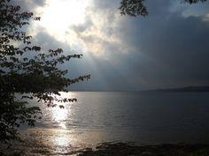 Over Chautauqua Lake