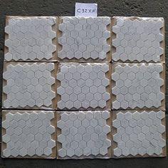 Carrara White Italian Carrera Marble Hexagon Mosaic Tile 2 inch Honed - - Amazon.com