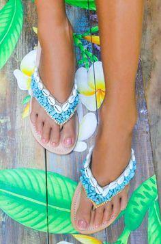 daa884278 Hot Lava Slippers Antigua Hot Lava - Turquoise