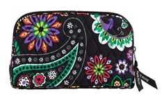 Bella Taylor Carnevale Quilted Cotton Make Up Pouch Cosmetics Bag Victorian Heart Co., Inc.. $17.95